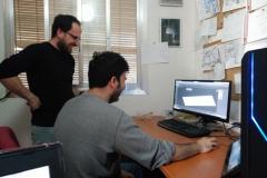 Crossplatform y diseño 3D trabajando en equipo. (Marzo 2017)