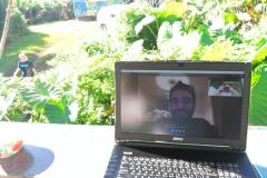 2017年11月) ハワイのマウイ島に行われたオーディオビジュアル(アンダンス、フランス)ととものテクノロジー会議